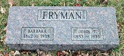 John T Fryman