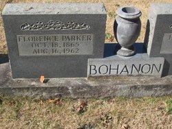 Florence Edna <i>Parker</i> Bohannon