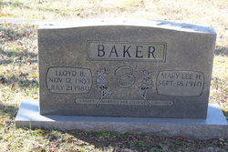 Lloyd B. Baker
