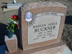 Marilyn Janice <i>Peters</i> Buckner
