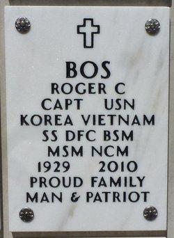 Capt Roger Charles Bos