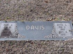 Effie Lou <i>Short</i> Davis