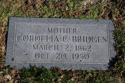 Cornelia Clementine <i>Baker</i> Bridges