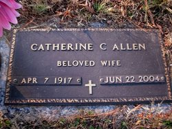 Sarah Catherine <i>Caldwell</i> Allen