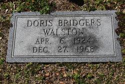 Doris <i>Bridgers</i> Walston