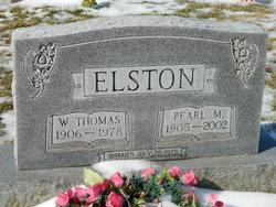 Pearl M <i>Hills</i> Elston