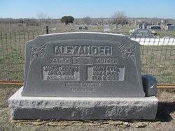 Mary Etta <i>Alford</i> Alexander