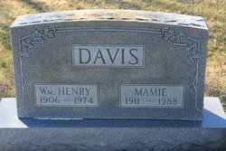Mamie Francis <i>Williams</i> Davis