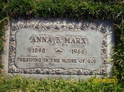 Anna Bertha Marx
