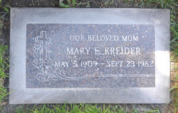 Mary Elizabeth <i>Wood</i> Kreider