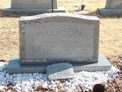 Sarah Irene Irene S. <i>Elkins</i> Ryerson