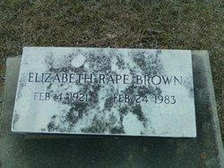 Dorothy Elizabeth Baby <i>Rape</i> Brown