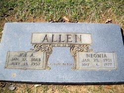 Neomia <i>Honeycutt</i> Allen