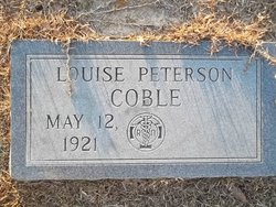 Louise <i>Peterson</i> Coble