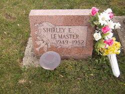 Shirley E LeMaster