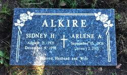 Sidney H Alkire