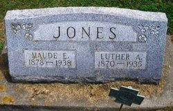 Maud Elizabeth <i>Holcomb</i> Jones