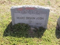 Mary <i>Diskin</i> Aton
