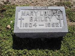 Mary Louise <i>Dean</i> Bailey
