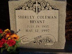 Shirley <i>Coleman</i> Bryant