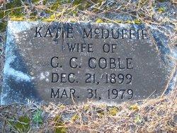 Katie E <i>McDuffie</i> Coble