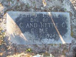Elsie C Coble