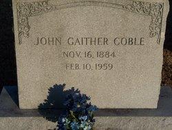 John Gaither Coble