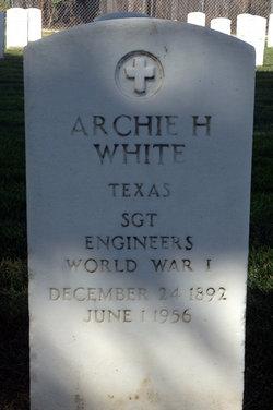 Archie Howard White