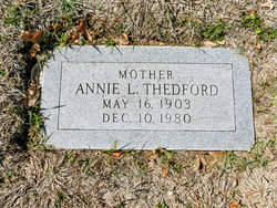 Annie L. Thedford