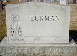 Annie E <i>Stively</i> Eckman