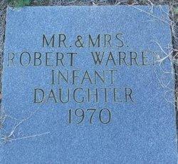 Infant daughter Warren