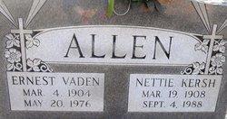 Ernest Vaden Allen