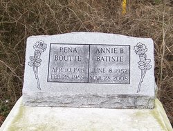 Annie <i>Boutte</i> Batiste
