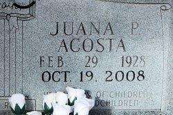Juana P Acosta