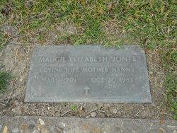 Maggie Elizabeth <i>King</i> Jonte