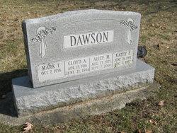 Cloyd A Tod Dawson