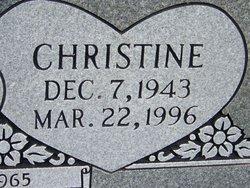 Christine <i>Fulbright</i> Burroughs