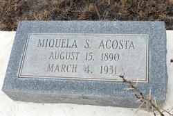 Miquela <i>Salmon</i> Acosta