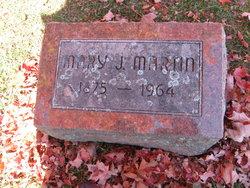 Mary Jane <i>Johnston</i> Martin