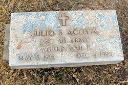 Pvt Julio <i>Salmon</i> Acosta