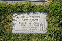 Lutie Ward <i>Whitcomb</i> Armington