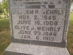 Olive Jane <i>Smith</i> Wehrly