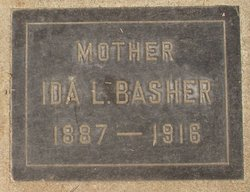 Ida Lillian <i>Crawford</i> Basher