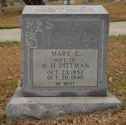 Mary Ann Elizabeth <i>Caudle</i> Pittman