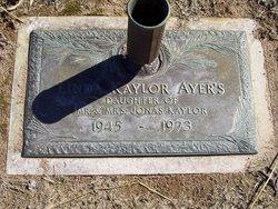 Linda Raye <i>Kaylor</i> Ayers