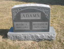 Bessie Estella <i>Hanawalt</i> Adams