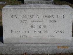 Elizabeth <i>Vincent</i> Evans