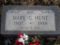 Mary Gladys <i>Rude</i> Hunt