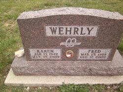 Karen <i>Pease</i> Wehrly