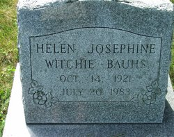 Helen Josephine <i>Witchie</i> Bauhs